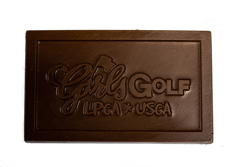 Girls Golf Bar Milk Chocolate
