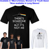 Pink Floyd - There's Someone in my Head but it's Not Me T-Shirt - Dark Side of the Moon - Brain Damage song lyric