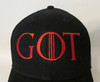 GOT Game of Thrones Logo #2 Embroidered Baseball Hat - Cap
