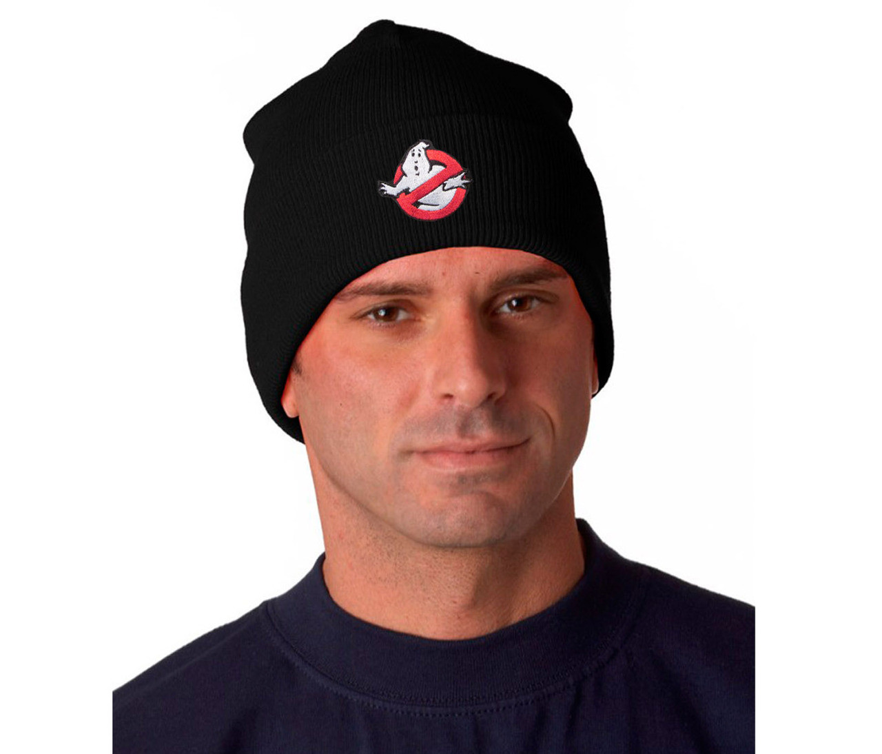 Ghostbusters Logo Knit Hat Main Pix  60187.1462596641.jpg c 2 imbypass on 13453d65f335