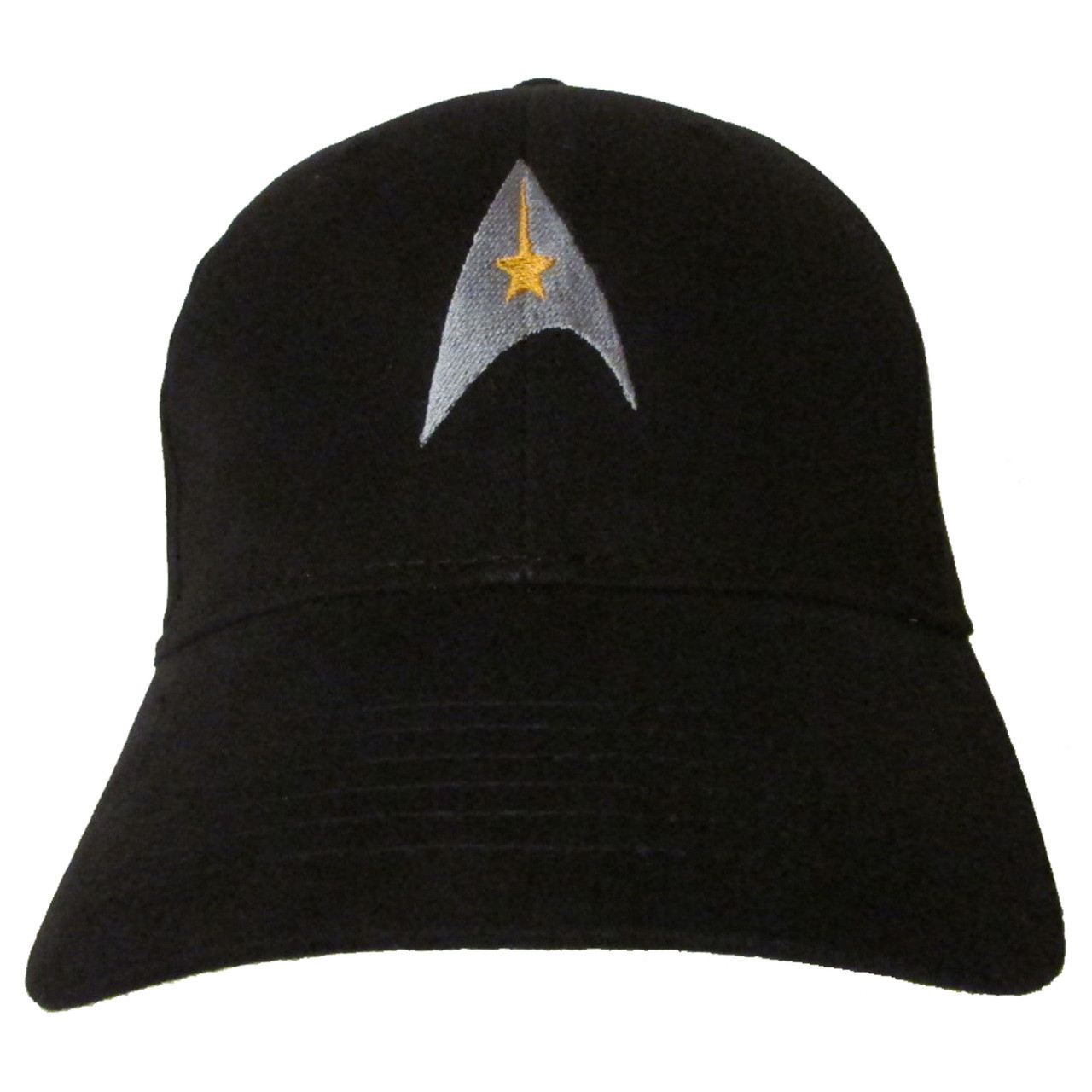 8e1841a085 Star Trek Classic Logo - Embroidered Baseball Hat - Cap - Cap Kirk Spock  McCoy