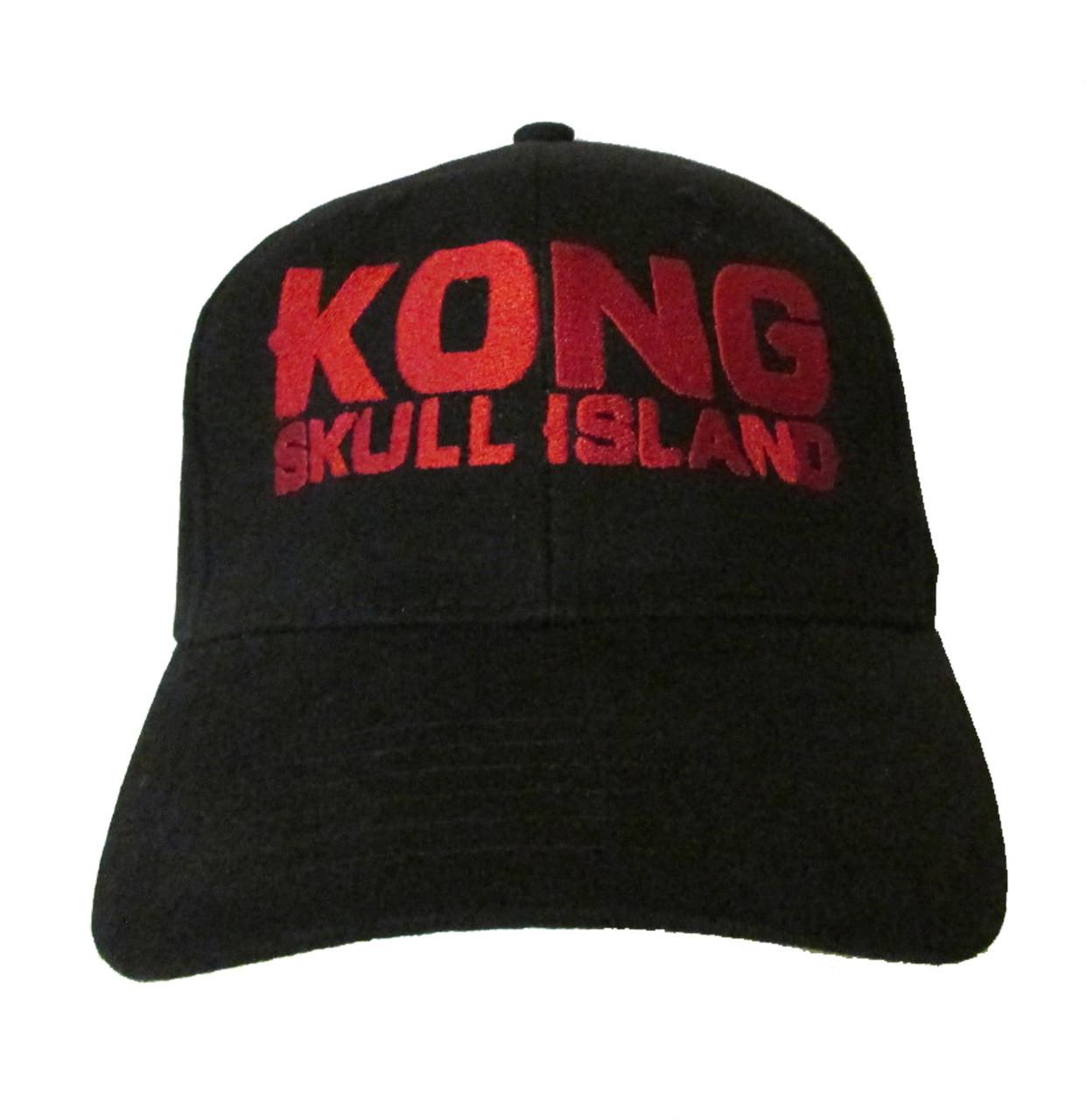 Kong Skull Island Logo Embroidered Baseball Hat - Cap - King Kong ... c45fa685311