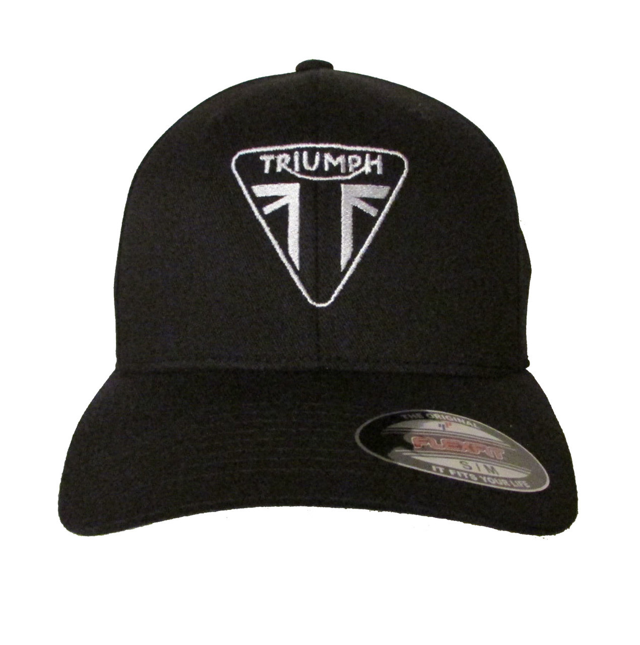 54822ac5bd9 Triumph Motorcycle Logo Ver 1 Embroidered Baseball Hat - Cap