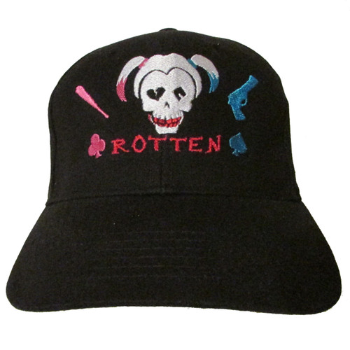 Harley Quinn Art - Suicide Squad - Margot Robbie - Embroidered Baseball Hat - Cap