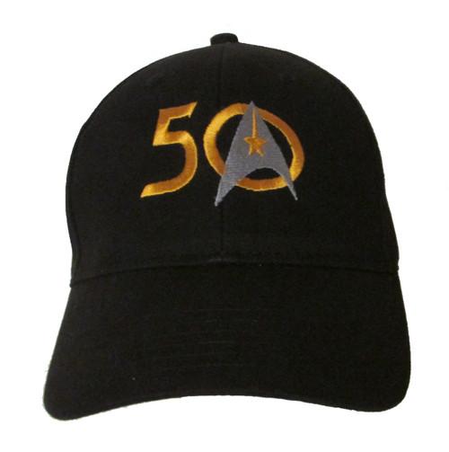 Star Trek 50th Anniversary Logo (1966-2016) - Embroidered Baseball Hat - Cap