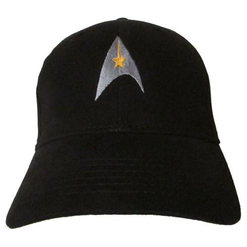 "Star Trek Classic ""Command"" Symbol Logo - Embroidered Baseball Hat - Cap"