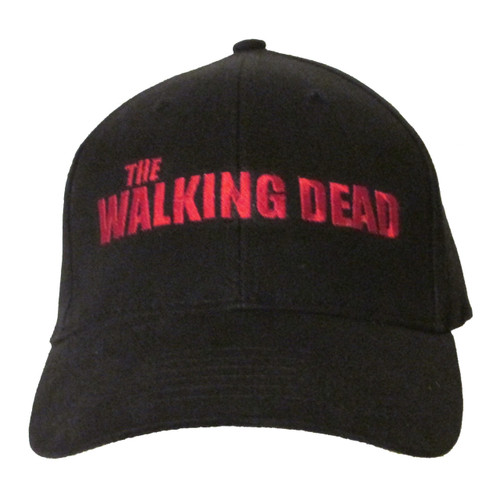 The Walking Dead Logo Embroidered Baseball Hat - Cap