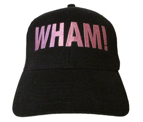 WHAM! Logo - George Michael R.I.P. Tribute Memoriam - Embroidered Baseball Hat - Cap
