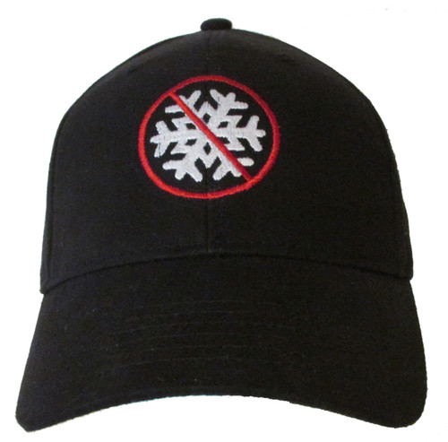 NO Snowflakes Conservative Funny Political Anti Liberal Pro Trump Embroidered Baseball Hat - Cap