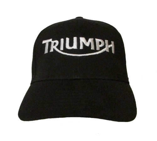 Triumph Motorcycle Logo Ver 2 Embroidered Baseball Hat - Cap