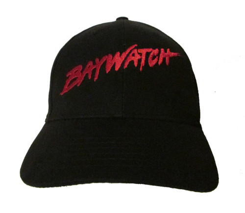 Baywatch TV Show/Movie/Film Logo Embroidered Baseball Hat - Cap (The Rock, Zac Efron, David Hasselhoff, Pamela Anderson)