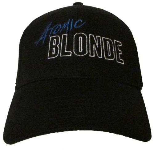Atomic Blonde Movie Logo Embroidered Baseball Hat - Cap Charlize Theron