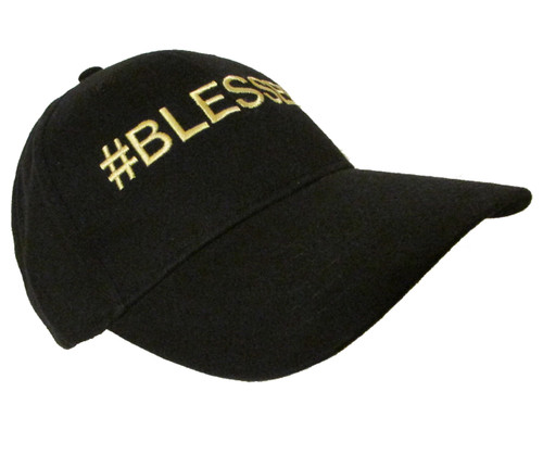 a6de6b0ee6130 Bruno Mars 24K Magic Song   BLESSED Embroidered Baseball Hat - Cap