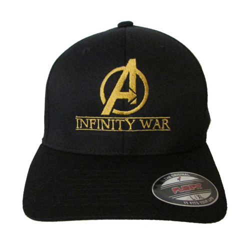 Avengers Infinity War Movie Comic Logo Embroidered Baseball Hat - Cap