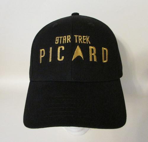 Star Trek Picard Logo Patrick Stewart Jean-Luc Picard Embroidered Baseball Hat - Cap