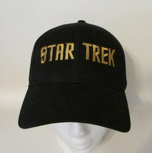 Star Trek TV Show 1966 Logo Embroidered Baseball Hat - Cap