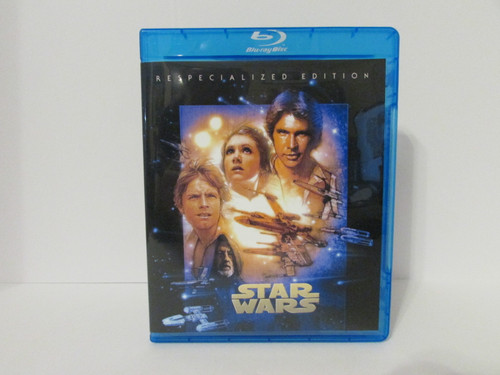 """Star Wars Ep. 4 IV A New Hope """"Respecialized Edition"""" 1997 Special Edition Blu-Ray"""
