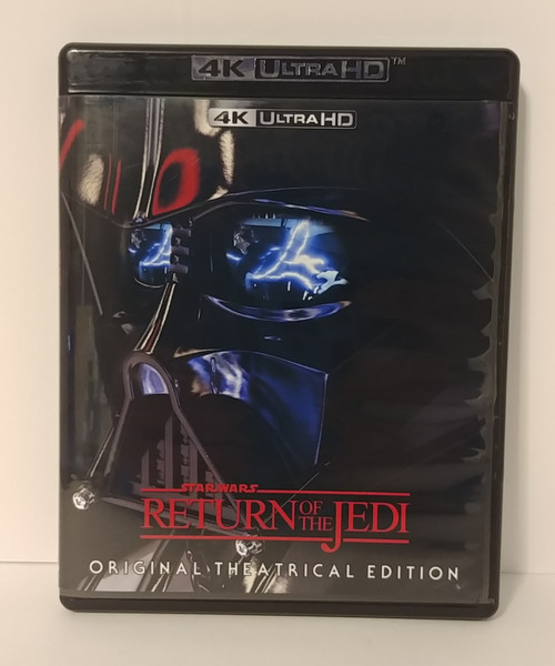 Star Wars Ep. 6 VI Return of the Jedi Original Theatrical 4K Blu-Ray (Cover Version 2)