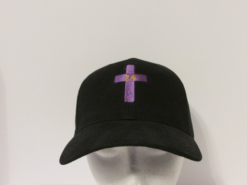 Kobe Bryant Tribute RIP VER 1 Embroidered Baseball Hat - Cap