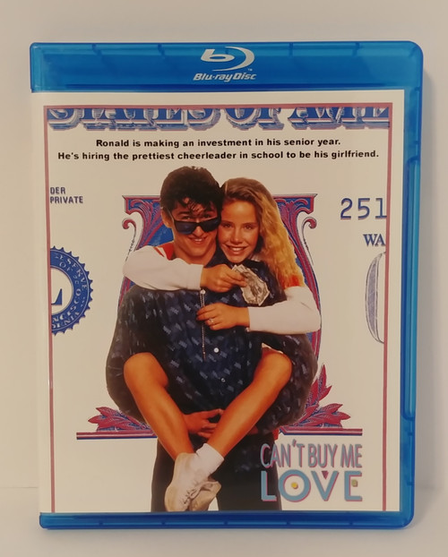 Can't Buy Me Love (1987) Blu-ray Starring Patrick Dempsey & Amanda Peterson
