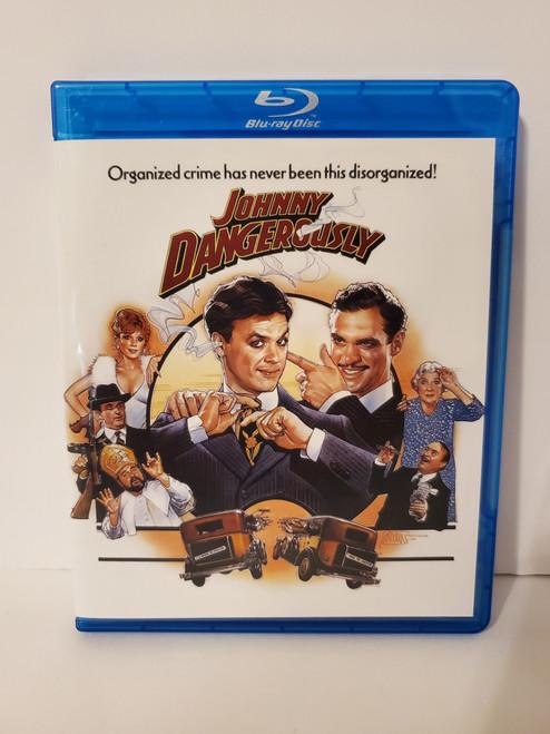 Johnny Dangerously (1984) Blu-ray Starring: Michael Keaton