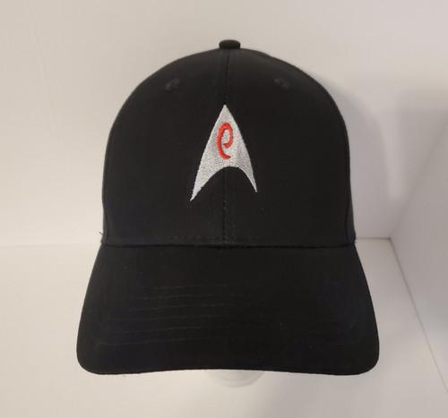 "Star Trek Classic ""Operations"" Symbol Logo - Embroidered Baseball Hat - Cap"