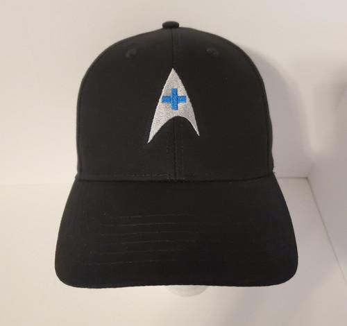 "Star Trek Classic ""Medical"" Symbol Logo - Embroidered Baseball Hat - Cap"