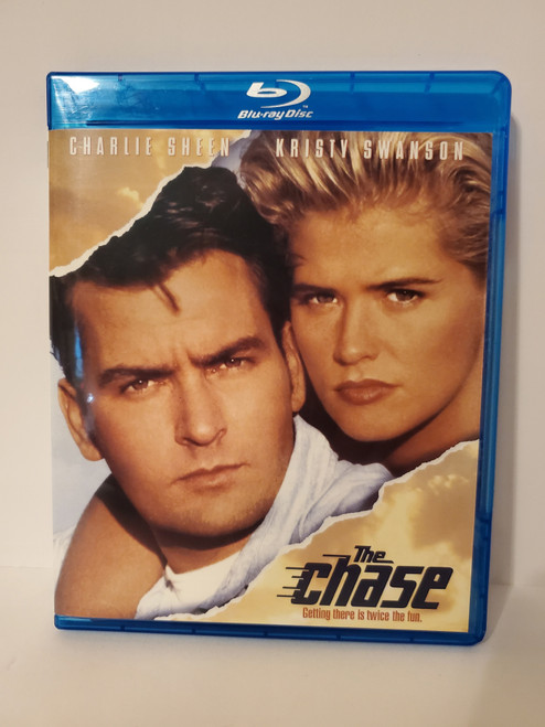 The Chase (1994) Blu-ray Starring: Charlie Sheen & Kristy Swanson