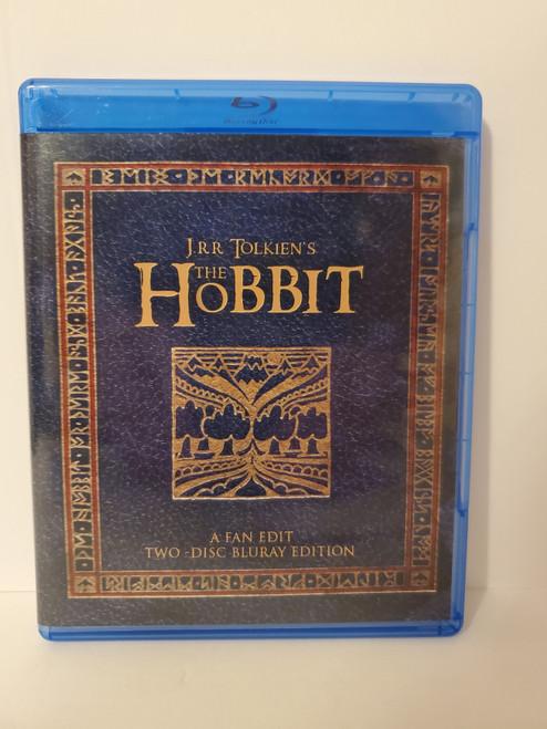 J.R.R. Tolkien's The Hobbit (Fan Edit - NAVY Cover) 2 Disc Blu-ray Set  Starring Martin Freeman, Richard Armitage & Ian McKellen