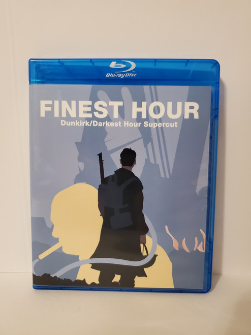 Finest Hour (Dunkirk & Darkest Hour Supercut Fan Edit) (2017) Blu-ray Starring: Gary Oldman & Fionn Whitehead