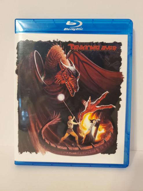 Dragonslayer (1981) Blu-ray Starring: Peter MacNicol, Caitlin Clarke, Ralph Richardson