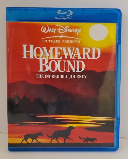 Disney's Homeward Bound The Incredible Journey (1993) Blu-ray Starring: Michael J Fox, Sally Field, Dom Ameche, Robert Hays, Kim Greist