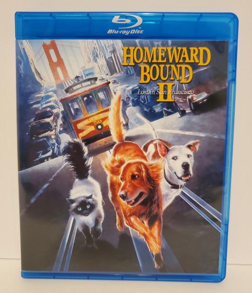 Disney's Homeward Bound II Lost in San Francisco (1996) Blu-ray Starring: Michael J Fox, Sally Field, Ralph Waite, Robert Hays, Kim Greist