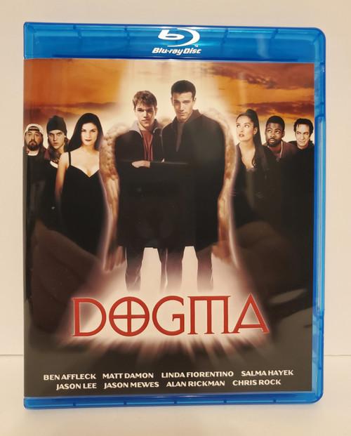 Dogma (1999) Blu-ray Starring: Kevin Smith, Ben Affleck, Matt Damon, Jason Lee, Alan Rickman, Chris Rock