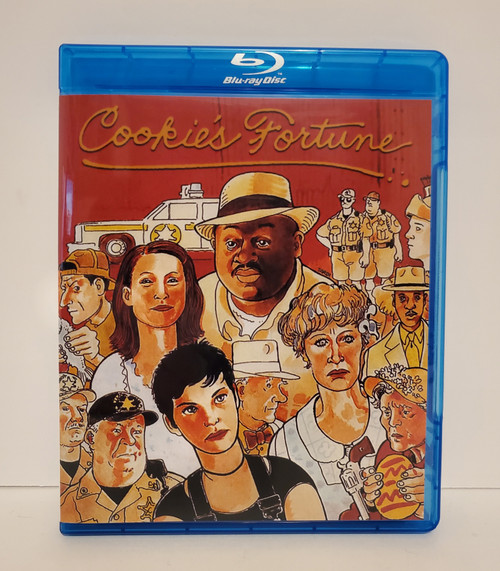 Robert Altman's Cookie's Fortune (1999) Blu-ray Starring: Glenn Close, Julianne Moore, Liv Tyler,  Chris O'Donnell, Charles S. Dutton, Patricia Neal, Ned Beatty, Courtney B. Vance, Donald Moffet, Lyle Lovett
