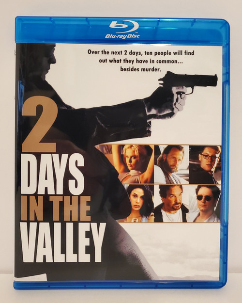 2 Days in the Valley (1996) Blu-ray Starring: Danny Aiello, Jeff Daniels, Teri Hatcher, James Spader, Eric Stoltz, Charlize Theron