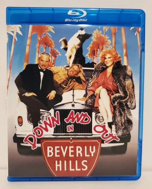 Down and Out in Beverly Hills (1986) Blu-ray Starring: Richard Dreyfuss, Nick Nolte, Bette Midler