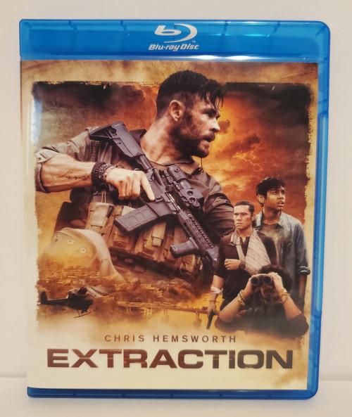 Extraction (2020) Blu-ray Starring: Chris Hemsworth