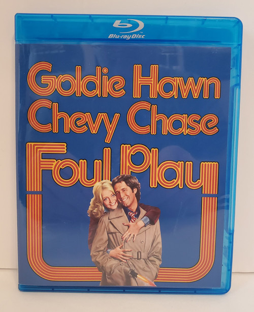 Foul Play (1978) Blu-ray Starring: Goldie Hawn, Chevy Chase