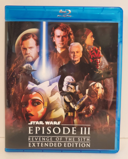 Star Wars: Episode III Revenge of the Sith Extended Edition (Fan Edit) w/ The Clone Wars (2020) Blu-ray