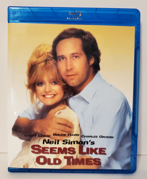 Neil Simon's Seems Like Old Times (1980) Blu-ray Starring: Goldie Hawn, Chevy Chase,  Charles Grodin