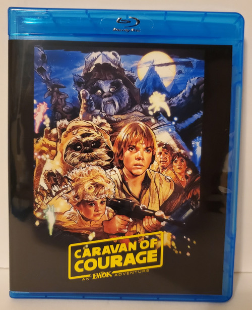 Star Wars An Ewok Adventure: Caravan of Courage (1984) Blu-ray