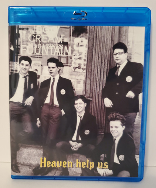 Heaven Help Us (1985) Blu-ray (aka Catholic Boys) Starring: Andrew McCarthy, Mary Stuart Masterson, Kevin Dillon, Donald Sutherland