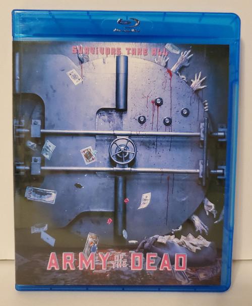 Zack Snyder's Army of the Dead (2021) Blu-ray Starring: Dave Bautista, Ella Purnell, Ana de la Reguera, Omari Hardwick, Matthias Schweighöfer, Nora Arnezeder, Garret Dillahunt, Tig Notaro