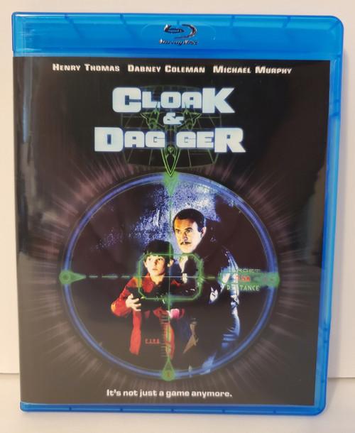 Cloak and Dagger (1984) Blu-ray Starring: Henry Thomas, Dabney Coleman, Michael Murphy
