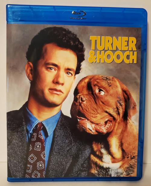Turner & Hooch (1989) Blu-ray Starring: Tom Hanks, Mare Winningham, Craig T. Nelson, Reginald Veljohnson