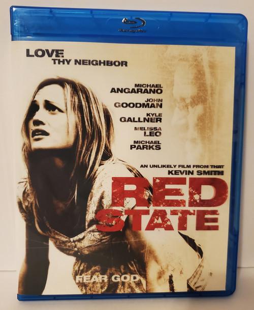 Kevin Smith's Red State (2011) Blu-ray Starring: Michael Angarano, John Goodman, Kyle Gallner, Melissa Leo, Michael Parks