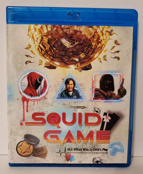 Netflix Squid Game - The Complete First Season (2021) Blu-ray
