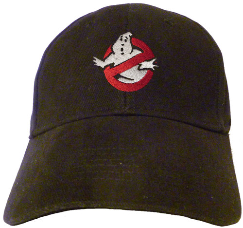 Ghostbusters Logo Embroidered Baseball Hat - Cap