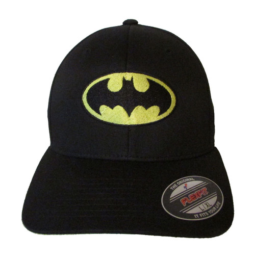 Batman (Classic) Logo Embroidered Baseball Hat - Cap